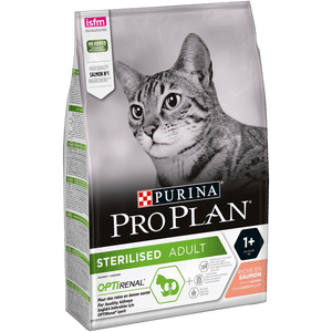 Photo du produit Cat Sterilised Salmon 3kg Purina Proplan