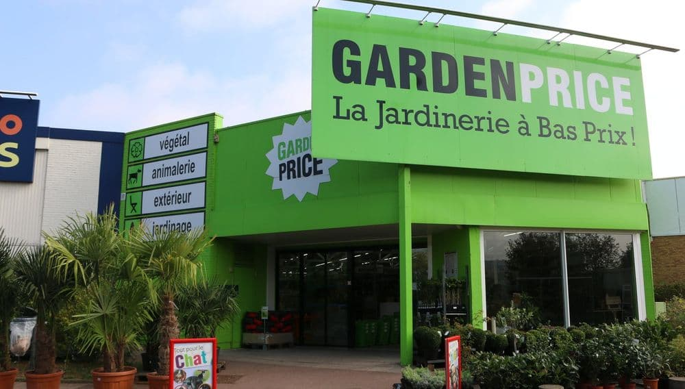 Magasin Garden Price Grigny